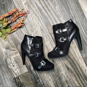 Sam & Libby Heel Ankle Booties -9